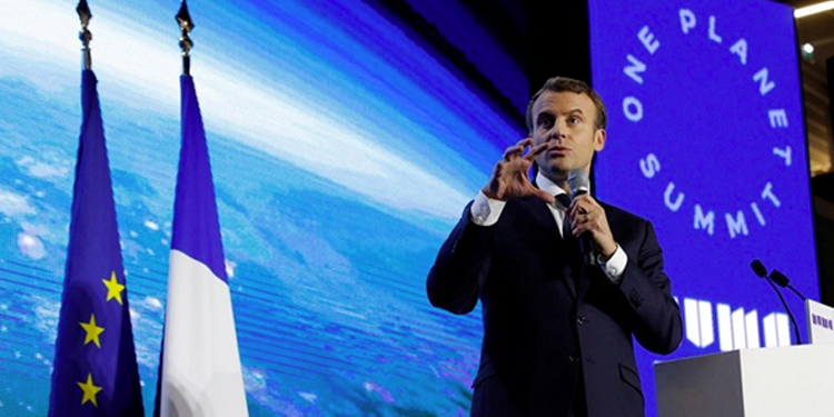 "Marseille accueillera le prochain ""One Planet Summit"" en janvier 2021."