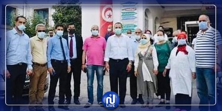 Aid Al Fitr : le ministre de la santé tunisien en visite à Béja et Jendouba