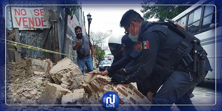Mexique : Un puissant séisme faisant au moins 6 morts