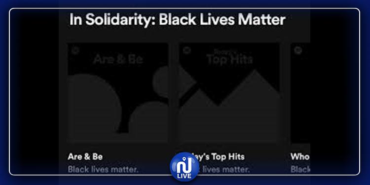 Hommage à George Floyd : Spotify ajoute une piste silencieuse sur ses playlists et podcasts