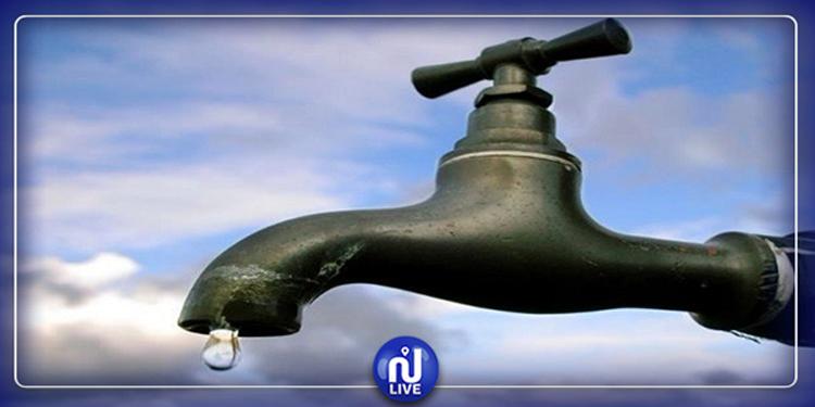 Manouba : Coupure d'eau mardi dans plusieurs délégations