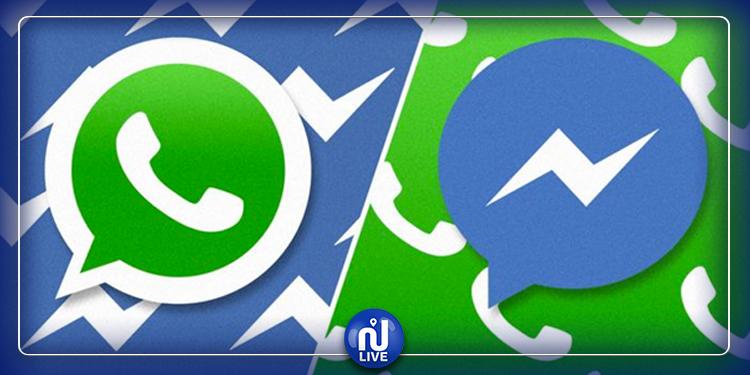 Bientôt la fusion de Facebook Messenger et WhatsApp ?