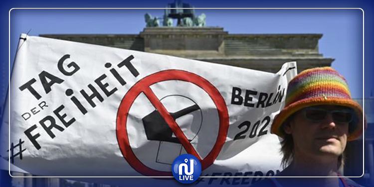 Berlin : Une marche de la liberté contre la Covid-19