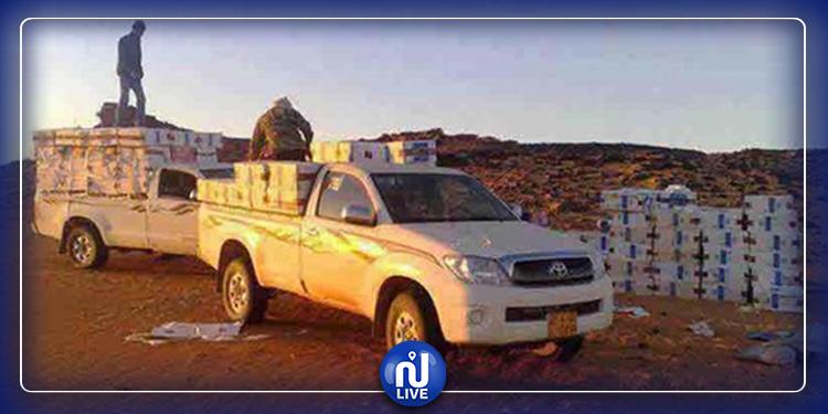 Tataouine : Huit véhicules de contrebande interceptés dans la zone frontalière tampon