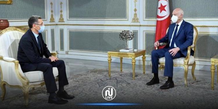 Kaïs Saïed reçoit le ministre de l'Intérieur