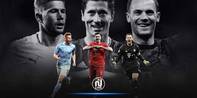 Joueur de l'année UEFA, les 3 finalistes connus