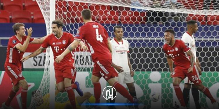 Le Bayern Munich s'offre la Supercoupe d'Europe face au Séville FC