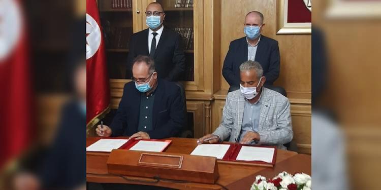 UGTT-Gouvernement : Signature d'un accord pour le recrutement de 31 mille ouvriers de chantiers dans la fonction publique