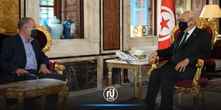 Entretien entre Rached Ghannouchi et Noureddine Tabboubi