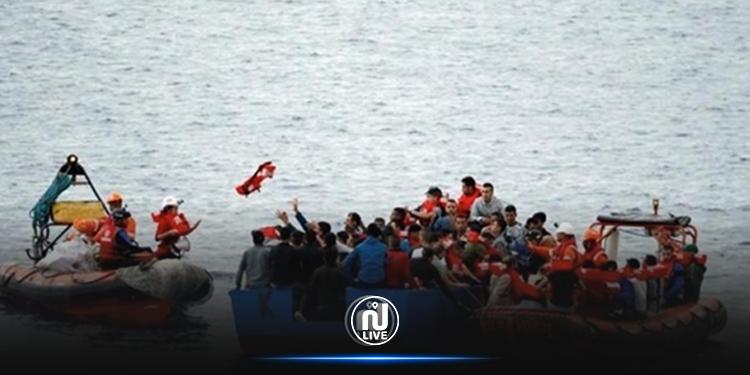 La garde côtière sauve 113 migrants irréguliers