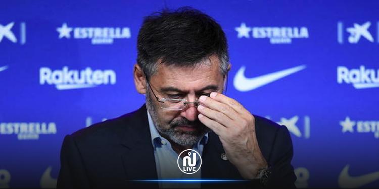 FC Barcelone : le président Bartomeu démissionne
