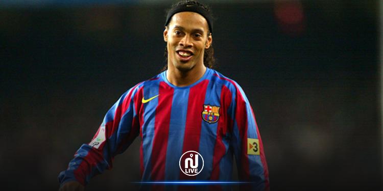 Covid-19 :Ronaldinho testé positif