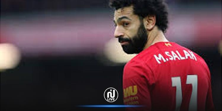 Covid-19 : Deuxième test positif pour Mohamed Salah
