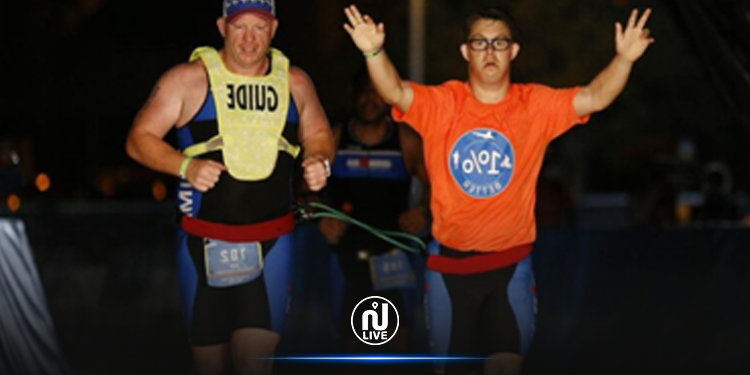 Insolite : Chris Nikic est le 1er trisomique de l'histoire à finir l'Ironman