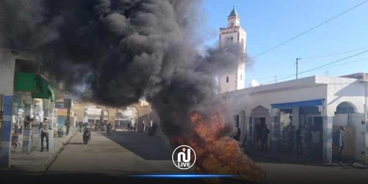 Gafsa : Protestations à Redeyef et sit-in au siège du gouvernorat contre les décisions du conseil ministériel