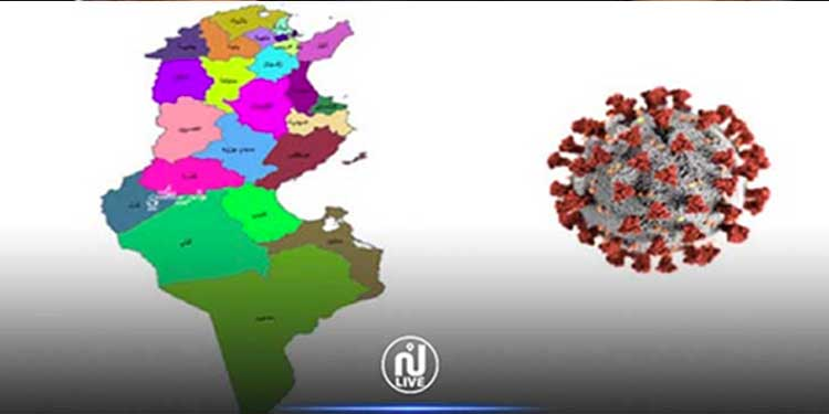 Covid-19 : Situation épidémiologique dans les différents gouvernorats