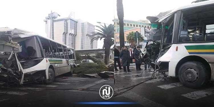 Tunis : Plus de précisions concernant la collision des deux bus