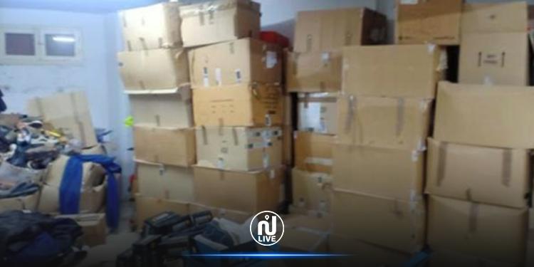 Saisie de produits de contrebande d'une valeur de plus d'un million de dinars