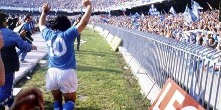 Naples : le stade San Paolo rebaptisé à la gloire de Diego !!!