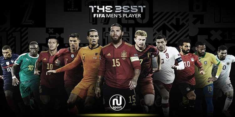 Les nommés au trophée FIFA du meilleur joueur de l'année connus