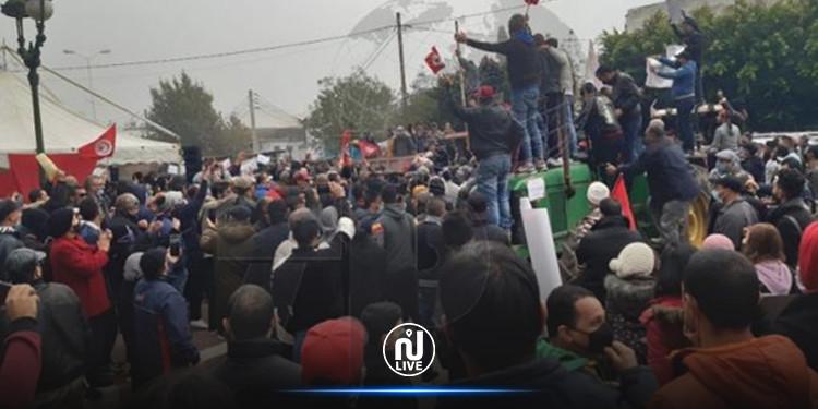 Béja : Paralysie de l'activité économique en raison de la grève générale