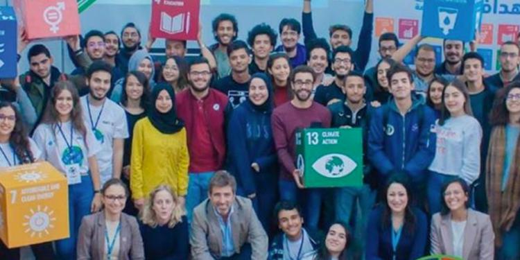 Hager Soussi, lauréate du hackathon « Earth Hacks »