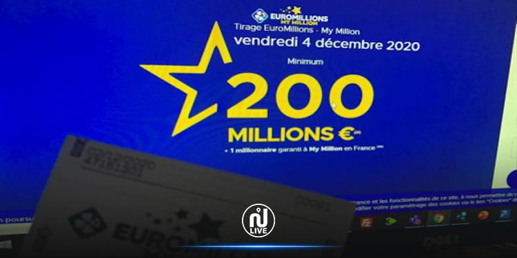 Toujours pas de vainqueur à l'Euromillions