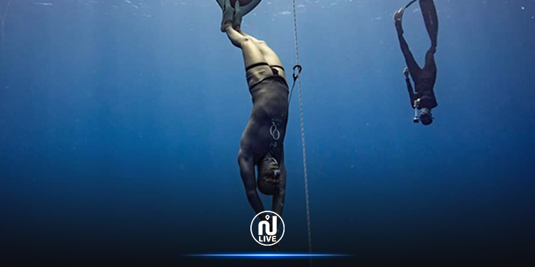 Le tunisien Walid Boudhiaf recordman du monde d'apnée !