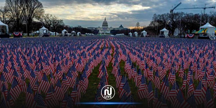 Insolite : l'investiture de Joe Biden avec plus de 190.000 drapeaux