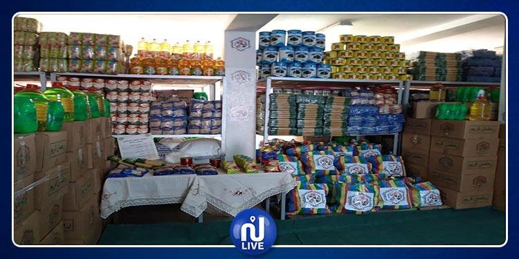 الشروع في توزيع مساعدات لفائدة أكثر من 55 ألف شخص