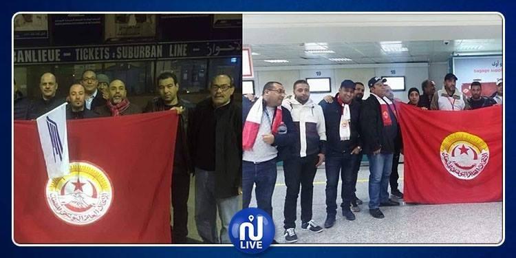 الساعات الأولى للإضراب العام بـ'الشيمينو' والخطوط التونسية (صور)