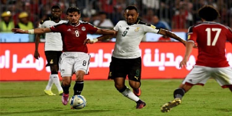 تصفيات كأس العالم : المنتخب المصري يختتم المشوار بالتعادل مع المنتخب الغاني