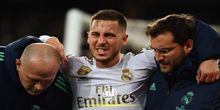 أخبار ريال مدريد : تحديد مدة غياب هازارد عن الملاعب