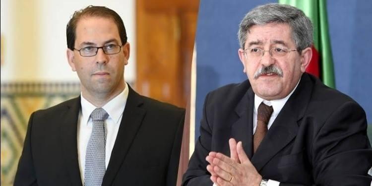 Youssef Chahed présente ses condoléances au premier ministre algérien