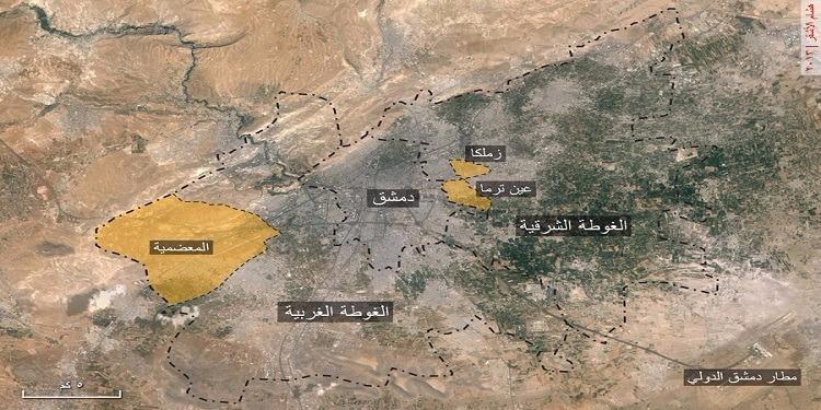 سوريا : ارتفاع عدد ضحاياالقصف على الغوطة الشرقية