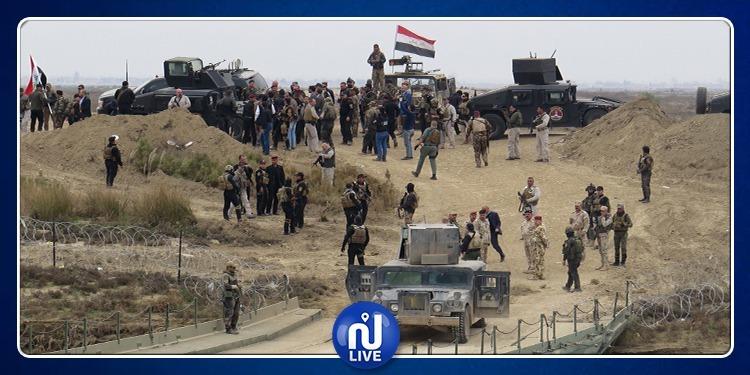 إمتطوا الدبابات.. محتجون يقتحمون معسكرا للجيش التركي في العراق