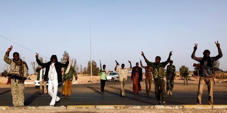 احتجاجات في ليبيا ضد أحكام الاعدام الصادرة ضد رموز النظام السابق