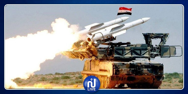 الدفاعات الجوية السورية تُدمّر صواريخ صهيونية قرب دمشق