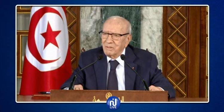 رئيس الجمهورية:إذا كانت السلطة تهيء الأسباب لنزع الثقة مني لن أتشبث