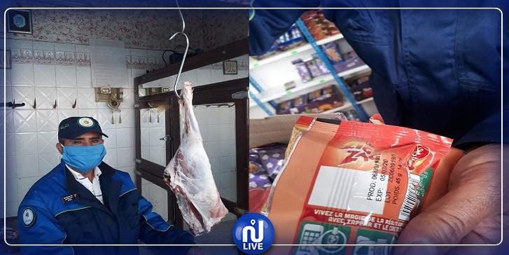 الشرطة البيئية بصفاقس تتمكن من حجز مواد غذائية ولحوم منتهية الصلوحية