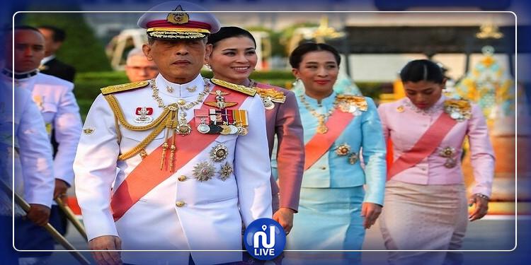 ملك تايلاندا ''يحجر'' على نفسه مع 20 من صديقاته بفندق ألماني