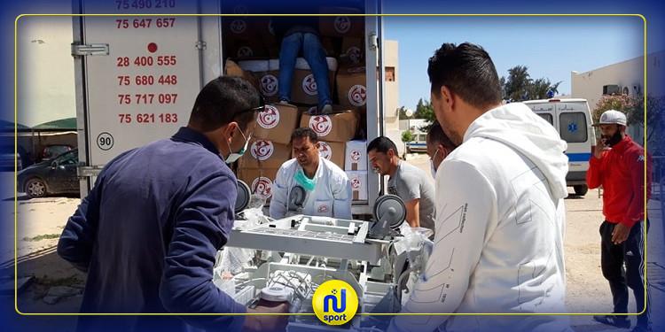 الجامعة التونسية لكرة القدم تقدم مساعدات طبية للمستشفى الجهوي ببن قردان