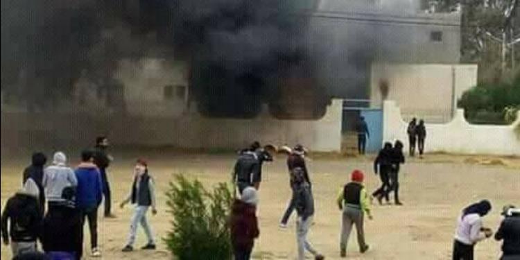 حرق مركز الأمن الوطني بالمظيلة: وزارة الداخلية تكشف التفاصيل