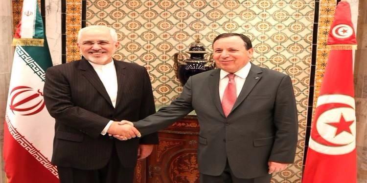 الجهيناوي يلتقي وزير الخارجية الايراني