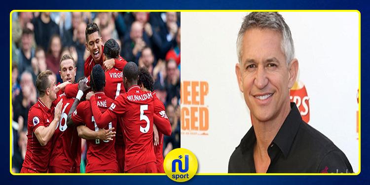 غاري لينيكر: أتوقع فوز ليفربول بدوري أبطال أوروبا