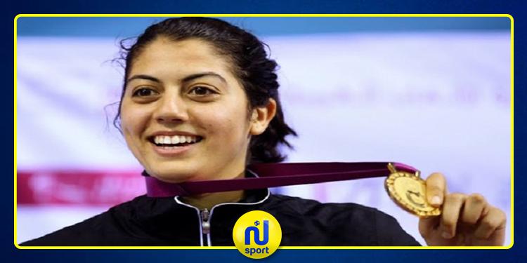عزة بسباس تشارك في دورة الجائزة الكبرى للمبارزة بموسكو