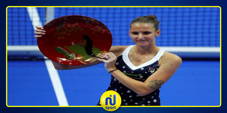 التشيكية 'بليسكوفا' تحرز لقب ايطاليا المفتوحة للتنس