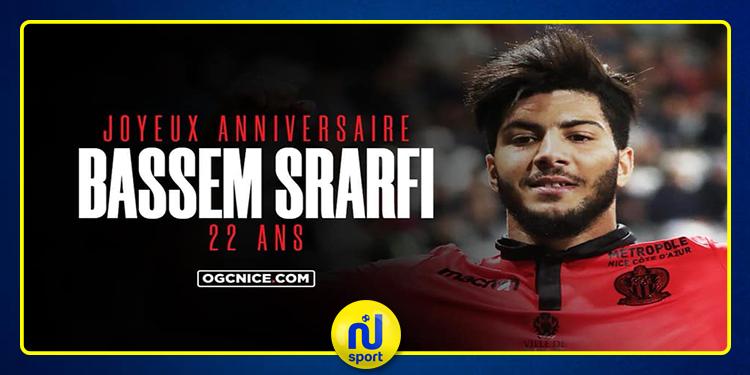نادي نيس الفرنسي يحتفل بعيد ميلاد بسام الصرارفي