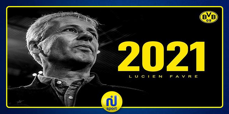 بوروسيا دورتموند الألماني يمدد عقد مدربه 'لوسيان فافر'