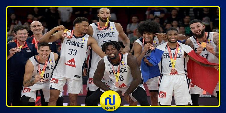 مونديال كرة السلة: المنتخب الفرنسي ينهي المسابقة في المركز الثالث